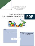 Ensayo Las Estrategias y Tácticas Del Mercadeo Rey 30 03 16 Rev. Final