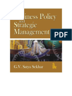 Business Policy and Strategic Management_resumen