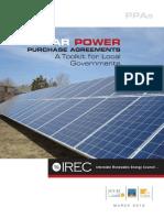 Solar Power PPA Toolkit FINAL 041015