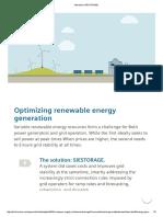 SIESTORAGE - Energy Arbitrage