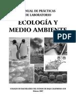 Manual de Practicas de Laboratorio Ecologia y Medio Ambiente
