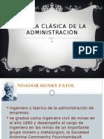 Teoria Clásica de La Administración