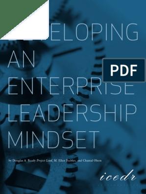 Developing an Enterprise Leadership Mindset | Leadership