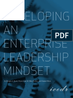 Developing an Enterprise Leadership Mindset