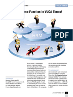 Human Resource Function in VUCA Times!