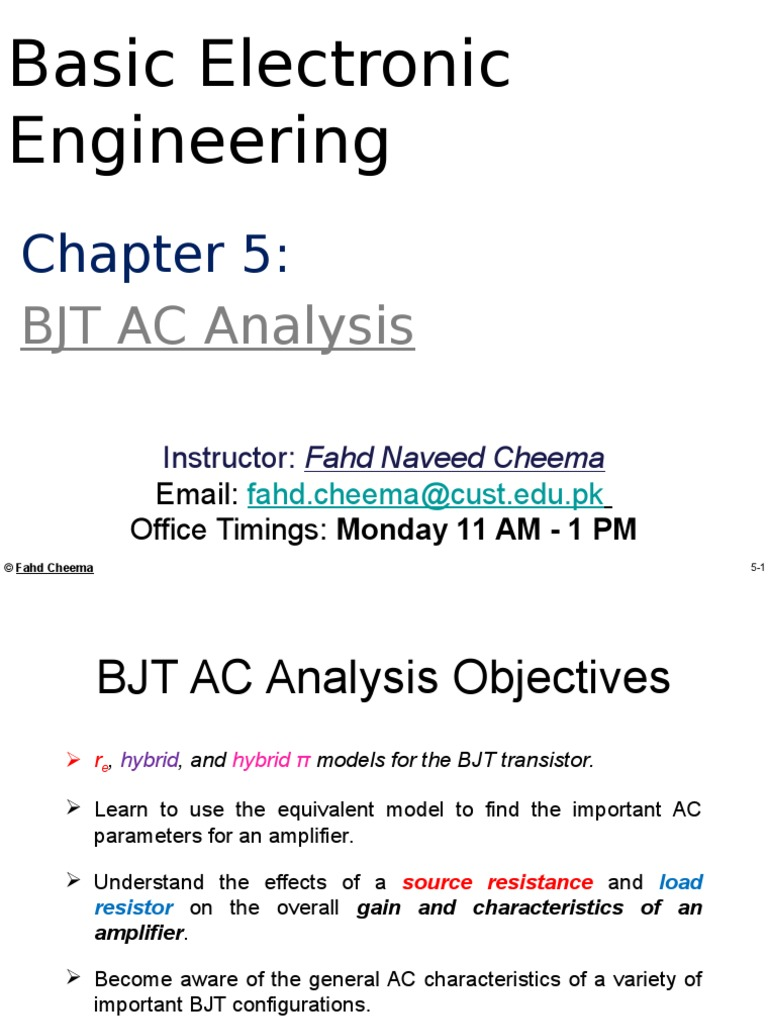 Bee Chapter 5 Amplifier Electrical Impedance An Ac Coupled Emitter Follower Common Collector Circuit Showing