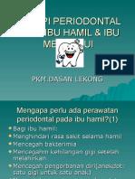 TERAPI PERIODONTAL PADA IBU HAMIL & IBU MENYUSUI.ppt