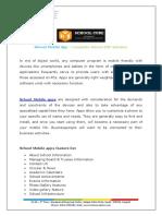 SchoolERP Mobile App