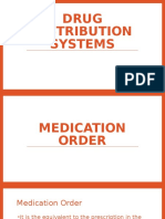 Medication Dispensing Systems