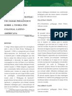 Artigo - Freire e a Teoria Decolonial