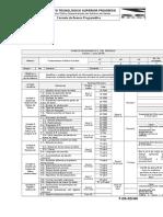 F-DA-02 - Formato de Avance Programático - FBD ISIC