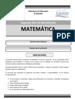 Matematica Segundo Nuevo Formato Paes (1)