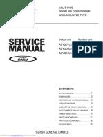 Fuijtsu Service Manual AC