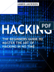 Hacking - The Beginners Guide to Master the Art of Hacking in No Time - Become a Hacking GENIUS (2016)