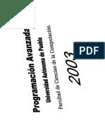 Progra a Vanz 2003
