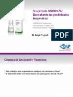 LYNCH - Simbrinza BID Speakers Deck Spanish Revision