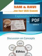 Ethics Expl 16th Nov 2014