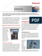 Safety Manager FDU Solution Note