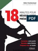 [eBook SOS] 18 Minutes Pour Réussir Votre Présentation