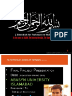 Electronic Circuit Design EE 233 Final Presentation