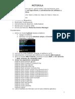 Motorola Reinstalacion de Software