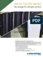 DMX Socomec Supercomputer Application