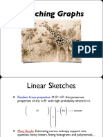 Linear Sketches