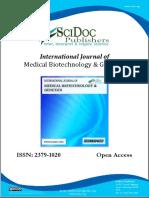 International Journal of Medical Biotechnology & Genetics (IJMBG) ISSN