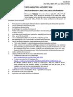 Document Checklistdfgghh