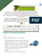 Energia Sustentable
