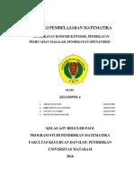 KELOMPOK 4 (Pendekatan Konstruktivisme, pendekatan pemecahan masalah dan pendekatan open endid).pdf