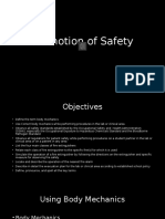 Promotion of Safety 2015