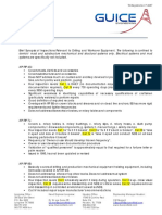 API Inspection Document Synopsis