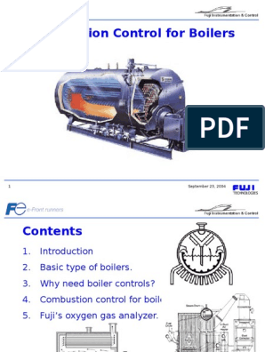 Combustion Control for Boilers,Ppt | Boiler | Combustion