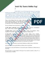 Nadi Dosh Study 1