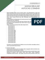 Modul Autocad 2 Dimensi2006