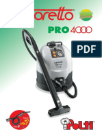 Manuale Vaporetto Pro 4000