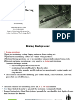 Design of Long Rotating Boring Bars