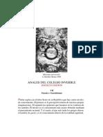 Anales Del Colegio Invisible. VII_ Gnosis y Gnosticismo