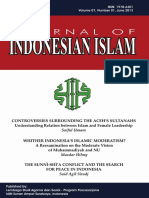 Journal of Indonesia Islam by Arif Zamhari