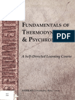 ASHRAE Fundamentals of Thermodynamics and Psychrometrics