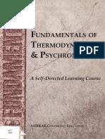 ASHRAE Fundamentals of Thermodynamics and Psychrometrics