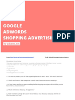 Google Adwords Shopping Exam by AdCerts