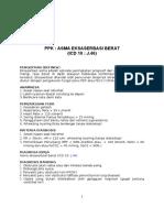 Panduan Praktik Klinis Paru 2014