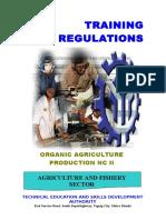 TR - Organic Agriculture Production NC II -Nov192012