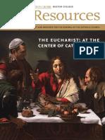 Euchcrist in Catholic Life