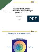 Risk Assessment/Analysis PFMEA