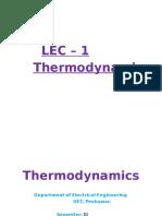 Thermo Lec 1 Elec