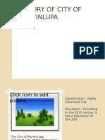 History of City of Muntinlupa