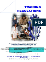 TR - Programming (Java) NC III